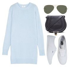 """""""Untitled #332"""" by lovelyeleanorstyle ❤ liked on Polyvore featuring Acne Studios, Vans, Chloé and Ray-Ban"""