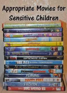 appropriate movies for sensitive children