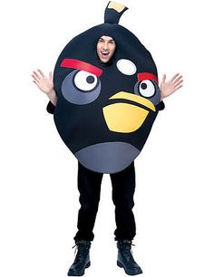 Black #angry birds #fancy #dress costume (deluxe),  View more on the LINK: 	http://www.zeppy.io/product/gb/2/261226316329/