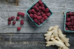 Raspberry Ginger Soda - a natural soda that's good for your gut!