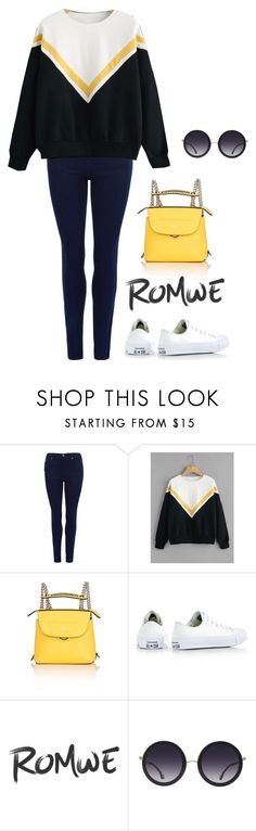 """""""X"""" by samy-elaine ❤ liked on Polyvore featuring Barbour International, Fendi, Converse and Alice + Olivia"""