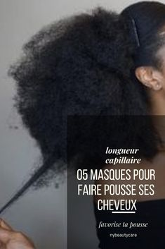 05 masks to stimulate hair growth- 05 masques pour stimuler la pousse des cheveux 05 masks to stimulate hair growth ! natural and organic ingredients if possible to promote growth, stop the fall and have our long frizzy hair - Frizzy Hair, Kinky Hair, Curly Hair Styles, Natural Hair Styles, Afro Hair Care, Long Hair Waves, Pelo Afro, Extreme Hair, Stop Hair Loss