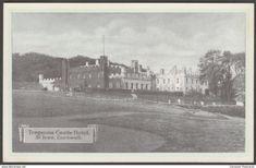 Tregenna Castle Hotel, St Ives, Cornwall, c.1930 - Postcard