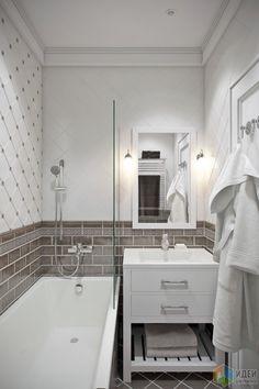 66 Super Ideas For Bedroom Design Small Bath White Master Bathroom, Small Bathroom, Modern Bathroom Decor, Bathroom Interior, Design Hall, Organize Bathroom Countertop, Bedroom Closet Storage, Tiny Bath, Closet Layout