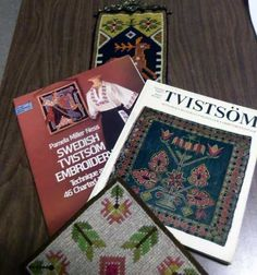 Norway and Sweden share a technique called Tvistsom. This makes a very heavy design done with a long cross stitch. It is used for pillows, mats, ...