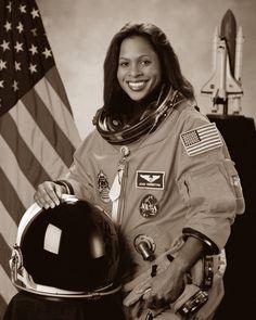 First African-American Women in Space (Top To Bottom) #1 Dr. Mae C. Jemison, September 1992 #2 Stephanie D. Wilson, July 2006 #3 Joan Elizabeth Higginbotham, December 2006