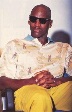 stationtostation:    Michael Jordan, always the pioneer. Russell Westbrook would totally wear this.