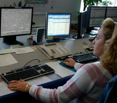 The airport operations control centre at Athens International Airport using UFIS® as the main operational management tool. - Image - Airport Technology