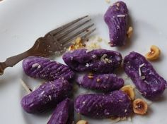 Purple Sweet Potato Gnocchi With Hazelnut Butter