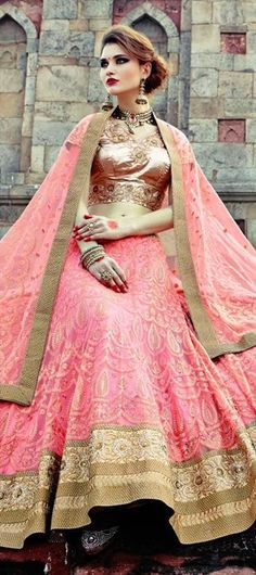 156769: INDIAN PRINCESS - the new princess inspired collection for weddings is worth a look.   #Bridalwear #IndianWedding #Pink #lehenga #bridetobe #indianfashion
