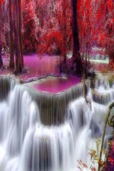 Forest Waterfall DIY Diamond Painting Scenery,round Resin Diamond Embroidery Landscape Patterns Handcarft For Wall Decor Waterfall Scenery, Forest Waterfall, Forest Scenery, Waterfall Photo, Forest Landscape, Waterfall Wallpaper, Beautiful Pictures, Beautiful Places, Beautiful Friend