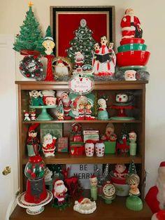 Merry Little Christmas, Retro Christmas, Christmas Images, Winter Christmas, Holiday Fun, Christmas Ornaments, Christmas Displays, Christmas Stuff, Christmas Ideas