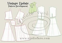 Love the diagonals in this #PatternPuzzle - Vintage Update #FaroVintage http://www.studiofaro.com/well-suited/pattern-puzzle-vintage-update