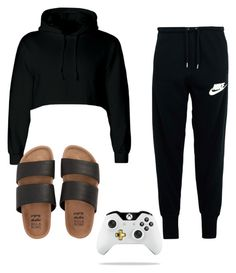 """""""just playing the game #NiahStylez"""" by niah-hamilton on Polyvore featuring NIKE and Billabong"""