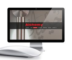 Alchemy's website option by Sherif Saad, via Behance
