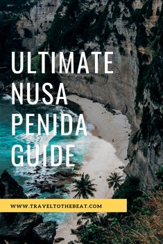 If you want to avoid getting lost, having to deal with tourists, and having to navigate terrible roads, then I HIGHLY suggest you book a Nusa Penida tour with Nusa Penida Travels! Travel Abroad, Asia Travel, Travel Around The World, Around The Worlds, Stay The Night, White Sand Beach, Best Location, Ubud, Day Tours