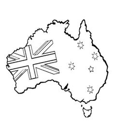 Australiana Colouring Pages