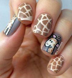 101 Classy Nail Art Designs for Short Nails Animal Nail Art Animal Nail Designs, Animal Nail Art, Best Nail Art Designs, Short Nail Designs, Animal Design, Classy Nail Art, Cute Nail Art, Cute Nails, Pretty Nails