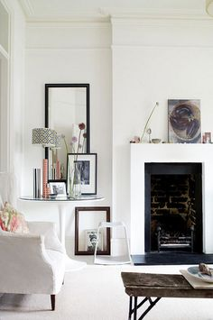 a stylist's home in london by the style files, via Flickr