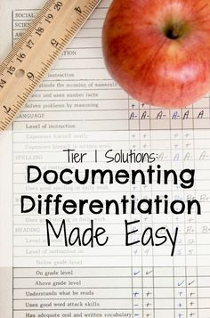 4 Tips for Documenting Tier 1 Accomodations and Interventions