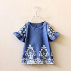Open shoulder, embroidered, and beautiful! $27.50 free shipping! Selling fast!