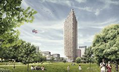 vkvvisuals.com/blog | BACK TO THE BASICS: THE PROPOSED WOODEN SKYSCRAPER IN…