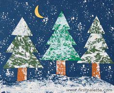 Kids Crafts Winter Art Projects - 17 Snow Craft and Winter Activities for Kids. Winter Activities For Kids, Winter Crafts For Kids, Winter Kids, Art Activities, Kindergarten Art, Preschool Crafts, Kids Crafts, Craft Kids, Snow Theme