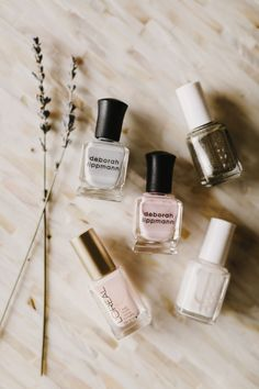 Nail polish for the big day: http://www.stylemepretty.com/2015/05/01/5-nail-polish-ideas-for-your-wedding-day/ | Photography: Kate Ann - http://kateannphotography.com/