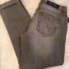 New MissMe ankle jeans MissMe boyfriend ankle jeans in gray. Inseam is 26 inches. Miss Me Jeans Ankle & Cropped