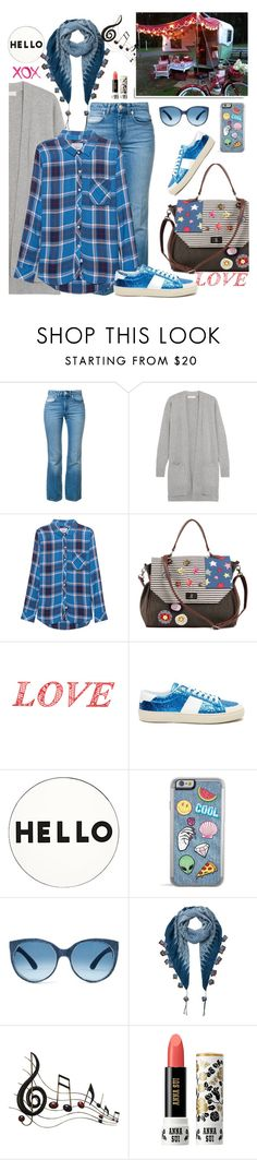 """""""Daywear"""" by hani-bgd ❤ liked on Polyvore featuring Sonia Rykiel, MICHAEL Michael Kors, Rails, Yves Saint Laurent, White Label, Lisa Perry, EAST, Benzara, Anna Sui and GALA"""
