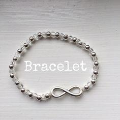 """NEW Stretch """"Infinity"""" Bracelet OS NEW Stretch """"Infinity"""" Bracelet OS Stretch Jewelry Bracelets"""