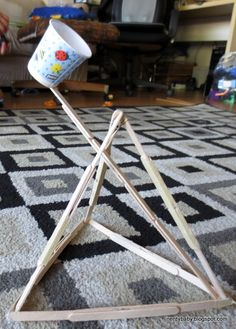 Catapult Lessons for Middle School | Catapult with Popsicle Sticks