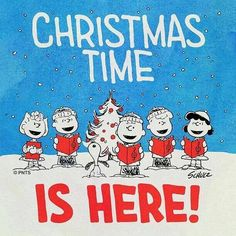 🎶 Christmas time is here 🎶 Charlie Brown Y Snoopy, Snoopy Love, Charlie Brown Christmas, Peanuts Christmas, Winter Christmas, Vintage Christmas, Xmas, Merry Christmas, Christmas Messages