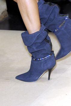 0630d644b4a Isabel Marant Bottes bleu Composition  Textile fibers Measurements  Heel  height  3.9 inches Details