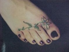 Foot Tattoos Pictures and Images