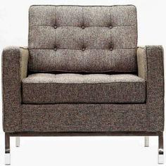 Modway Loft Armchair in Oatmeal Wool, Modway Furniture EEI-184-OAT
