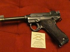 Swedish P40 Lahti 9mm Military Pistol