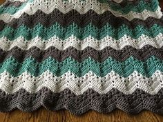 Crochet blanket. Note corrections on Ravelry page - I don't think they have been corrected in the download.