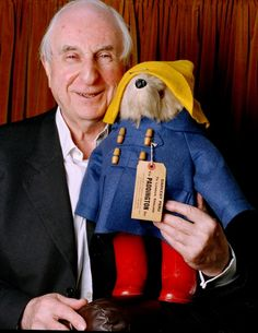 The birth on this day 13th January, 1926 of Michael Bond. English writer and creator of Paddington Bear. Whilst working as a BBC television cameraman Bond had his first book published. A Bear Called Paddington. it was the start of Bond's most famous series of books telling the tale of a bear from darkest Peru, whose Aunt Lucy send him to England, carrying a jar of marmalade.