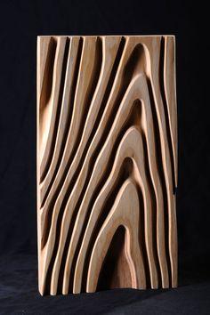 Wood Carving Designs, Wood Carving Art, Carved Wood Wall Art, Wooden Wall Art, Diy Wood Projects, Wood Crafts, Art Sculpture En Bois, Zen Furniture, Plywood Art