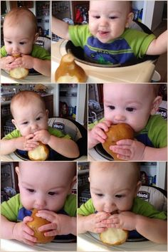"""Sweet Teetle: Baby Led Weaning part 2 """"First foods"""""""