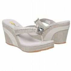 718c37781af SALE - Volatile Jaida Wedge Heels Womens White -  55.2 ONLY. Was  69.00 -  You SAVE  14.00.