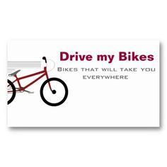 Bicycles business card pinterest business cards bicycling and bicycles business card pinterest business cards bicycling and business colourmoves