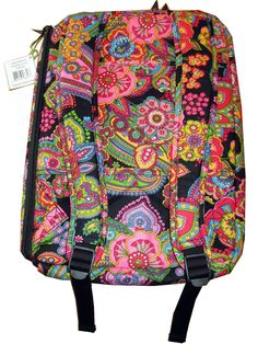 847a0a5f1e NWT VERA BRADLEY Laptop Backpack in Symphony in Hue Retired NEW ~ Back to  School