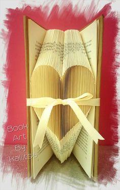 Δώρο ♥ Δώρο επετείου ♥ Δώρο αγάπης ♥ Έρωτας ♥ Βιβλίο ♥ Book Folding ♥ Book Art ♥ Book Art By Kallitsa ♥ Δώρο Αγίου Βαλεντίνου