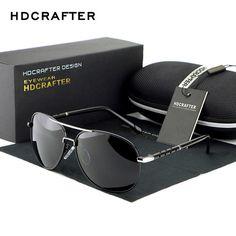 fd6cb7b2d64 Aluminum Magnesium Polarized Sun Glasses Driving Male Fashion Oculos men  sunglasses