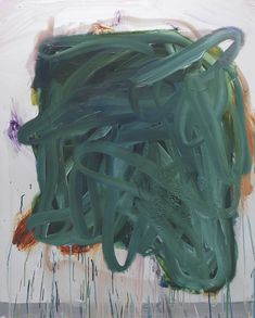 Peter Bonde Fear of Reflection (Medusa's Head), 2014 oil on mirror-foil Abstract Art Images, Abstract Drawings, Abstract Painters, Drip Painting, Figure Painting, Organic Art, Art Walk, Green Art, Medusa