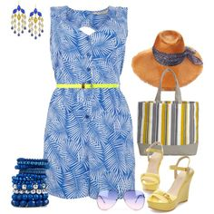 """""""Plam Spring"""" by no-where-girl on Polyvore"""