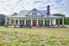 Amazing gated, 4 BR 2 BA custom farmhouse on 43 acres.  Built June 2014 & features a beautiful, wide wrap around front porch, fire pit, play area, garden, a 30x55 foot barn.  Home interior has heavy trim package with plantation shutters, coffered ceiling, stacked stone, extra large fireplace, screened in porch & Acaia Hardwood floors throughout. Chefs kitchen includes quartz countertops, high end appliances, Moen fixtures, 6 burner stove with double ovens & island with built in microwave…