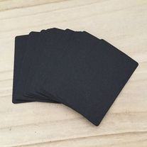 Round+corner+blank+business+cards Great+for+craft+projects,+card+making,+etc  Quantity:+100+pcs Color:+black Size:+5.2+cm(W)+x+8.5+cm(L)